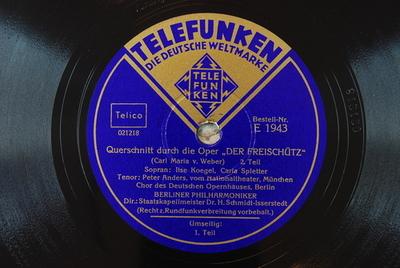 Der Freischütz / Auswahl