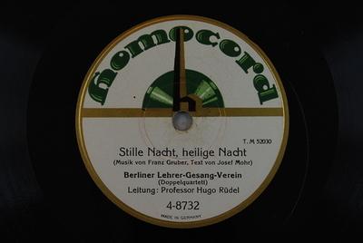Stille Nacht, heilige Nacht / O du fröhliche Stille Nacht, heilige Nacht / (Musik von Franz Gruber, Text von Josef Mohr)