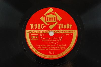 Comedietta Comedietta : op. 82; 2. Teil / von Paul Graener