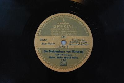 Die Meistersinger von Nürnberg <Wahn! Wahn! Überall Wahn!> / Auswahl