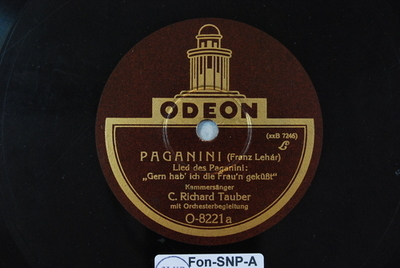Paganini <Gern hab' ich die Frau'n geküsst>