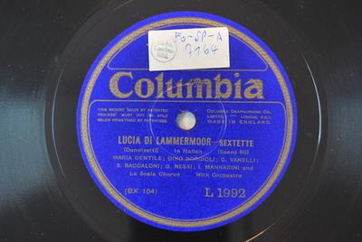 Lucia di Lammermoor / Auswahl