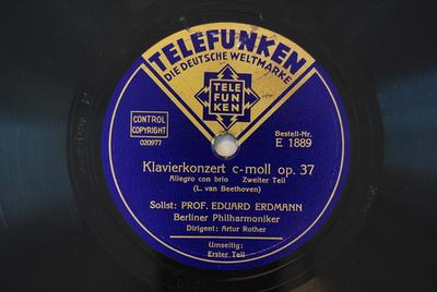 Konzerte, Kl Orch, op. 37 <1. Satz> / Auswahl