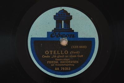 Otello <Credo in un Dio crudel>