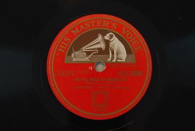 Sinfonien, B 178 / On the road On the Road to Mandalay : (Kipling - Speaks)