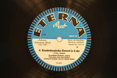 Brandenburgische Konzerte <Konzert BWV 1049, 1. Satz> / Auswahl