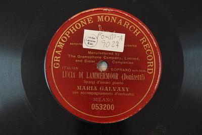 Lucia di Lammermoor <Spargi d'amaro pianto>