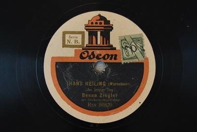 Hans Heiling <An jenem Tag>