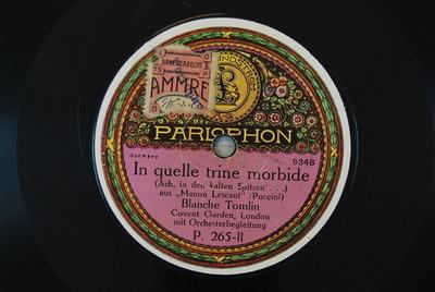 Manon Lescaut <In quelle trine morbide>