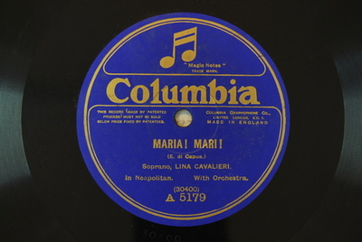 Carmen / Maria Mari Maria! Mari! / (E. di Capua)