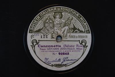 Il trovatore / Canzonetta Canzonetta / (Salvator Rosa)