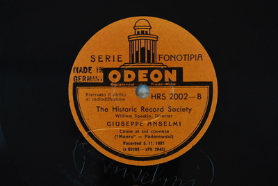 "Luisa Miller / Manru Come al sol cocente : ""Manru"" / (Paderewski)"