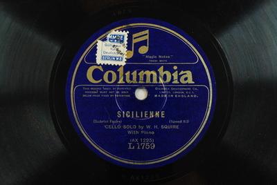 Siciliennen, Vc Kl, op. 78