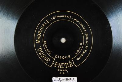 Madrigale / Serenata Madrigale / (Simonetti)