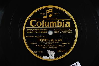 Turandot <Gira la cote>