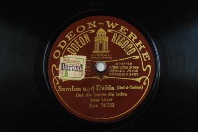 Samson et Dalila <Printemps qui commence>