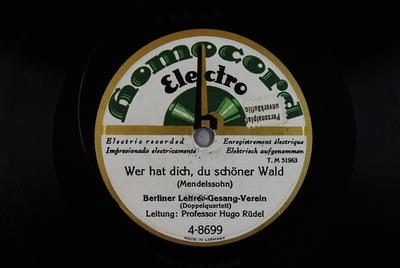 Lieder, op. 50 <Der Jäger Abschied>