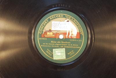Der Zigeuner-Primas <Meine alte Stradivari>