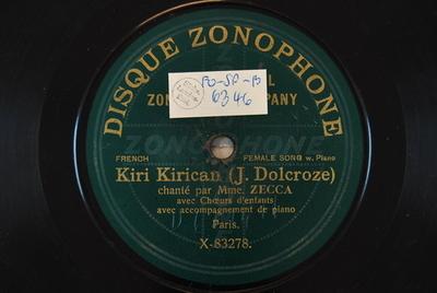 Kiri-Kirican / Le petit Noel Kiri Kirican / (J. Dolcroze)