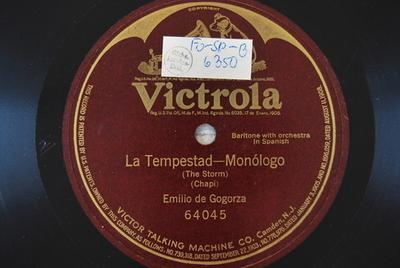La Tempestad / Auswahl