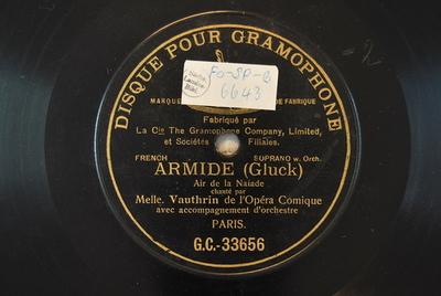 Armide / Auswahl