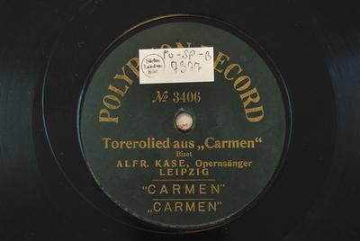 Carmen <Votre toast>