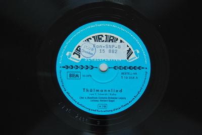 Thälmannlied von E. Schmidt/Kuba