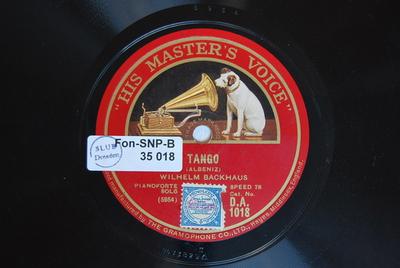 Tango / (Albeniz)