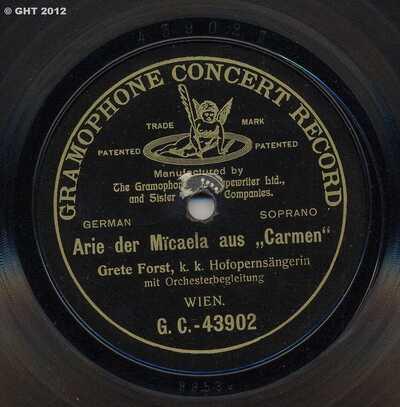 Arie der Micaela