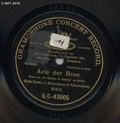 Arie der Rose
