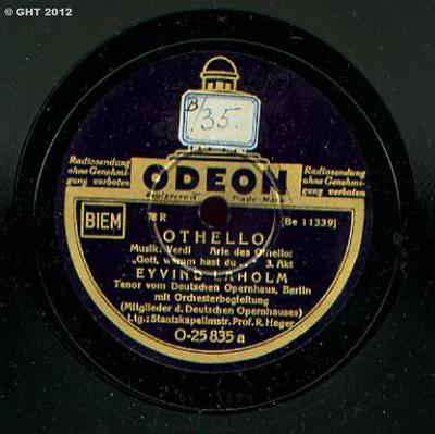 Arie des Othello