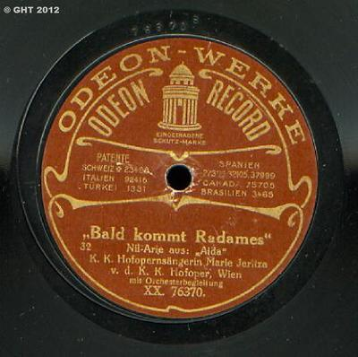 Bald kommt Radames