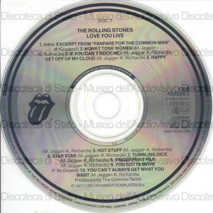 Love you live / The Rolling Stones ; The Glimmer Twins