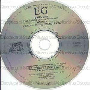 Apollo : Atmospheres and soundtracks / Brian Eno, Daniel Lanois, Roger Eno