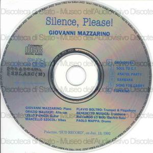 Silence, please! / Giovanni Mazzarino