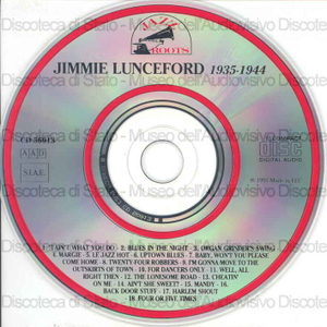 Jimmie Lunceford 1935 - 1944 : 1935 - 1944 : Blues in the night