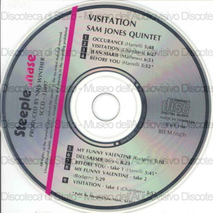 Visitation / Sam Jones Quintet