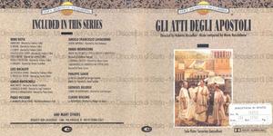 Gli Atti degli Apostoli : Original Motion Picture Soundtrack / Music composed and conducted by Mario Nascimbene ; Solo flute: Severino Gazzelloni ; Solo voice: Sonali Das Gupta