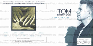 Love over rage / Tom Robinson