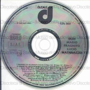 Duo Mario Fragnito Lucio Matarazzo