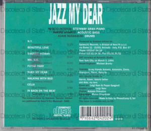 Jazz my dear / Nuccio Intrieri, Harvie Swartz, Adam Nussbaum