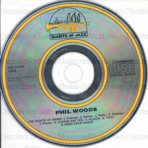 Phil Woods : The rights of swing