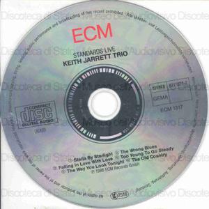 Standards live / Keith Jarrett Trio