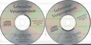 Titta Ruffo : The early recordings : 1906-1912