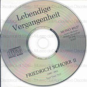 Friedrich Schorr : 2. : Historic Recordings