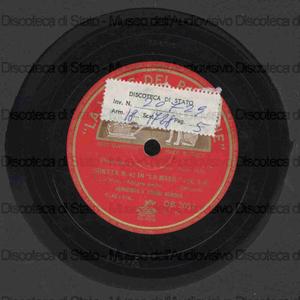 Sonata N. 42 in La magg. : K. 526 / Mozart ; Hephzibah & Yehudi Menuhin, piano e violino