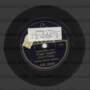 """Ninna nanna / Federico Chopin. Pesci d'oro : dalle """"Immagini"""" / Claudio Debussy ; Carlo Zecchi, pianista."""