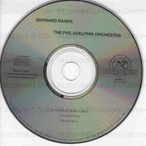 Bernard Rands / The Philadelphia Orchestra