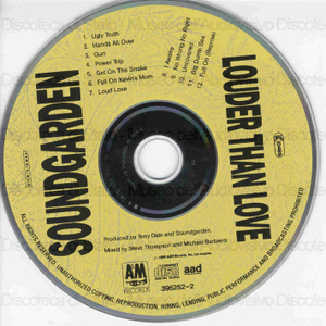 Louder than love / Soundgarden