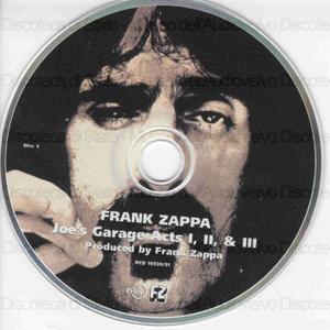 Joe's Garage : acts I, II & III / Frank Zappa